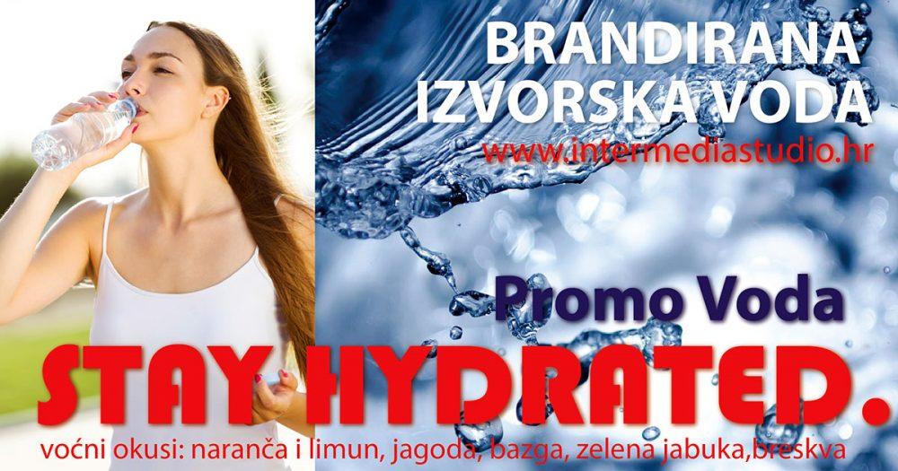 Promo Voda, promocija sa stilom